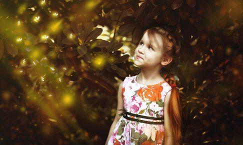 情けは人の為ならずを実感している少女