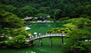 微妙な意味の日本庭園