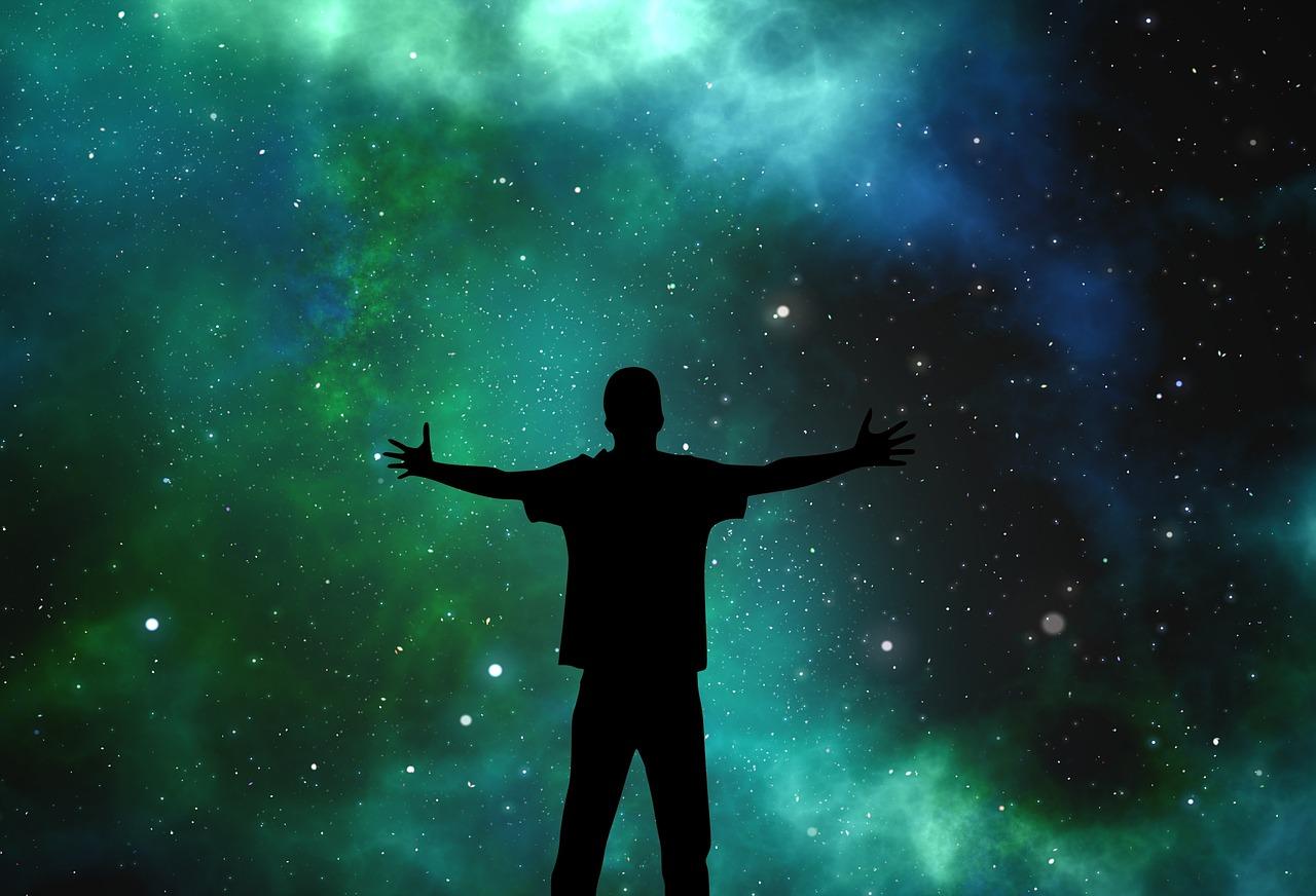 夜空の星空