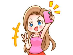 ピンクが好きなサイバー系ギャル